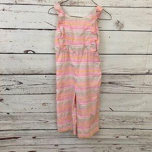 EGG Baby Girls Linen Jumpsuit